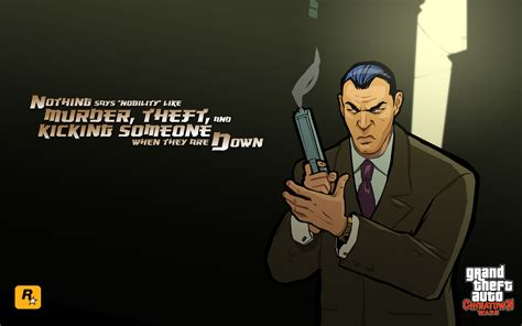 grand theft auto chinatown wars wallpaper
