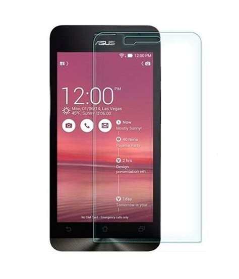 King Tempered Glass Asus Zenphone 2 asus zenphone 5 tempered glass screen guard by kifayati