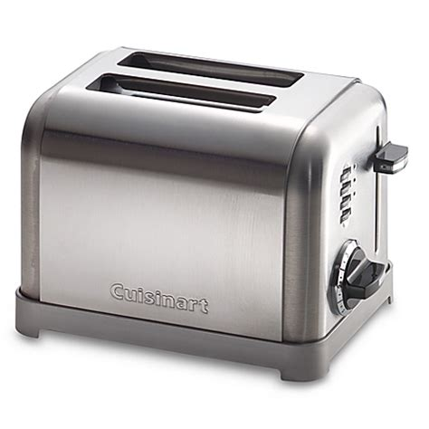 Cuisinart Classic Toaster Cuisinart 174 Metal Classic 2 Slice Toaster Bed Bath Beyond
