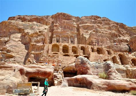 and stone city ancient stone city petra asian top destinations