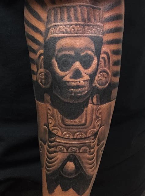 aztec tattoo shop 50 of the best aztec tattoos insider