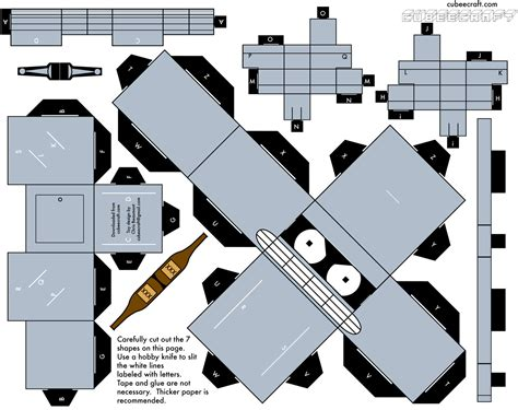 Futurama Papercraft - cubeecraft mu 241 ecos de papel f 225 ciles de armar yapa