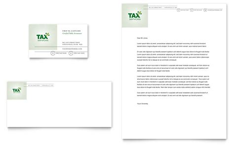 tax business cards templates accounting tax services business card letterhead