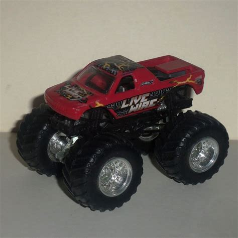 diecast jam trucks wheels jam live wire 1 64 diecast truck used