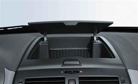 Child Car Sun Blinds Bmw Genuine Dashboard Panel Storage Tray Black E83 X3