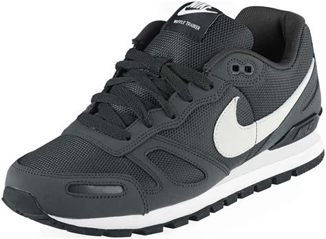 nike air shoes nike air waffle trainer shoes grey black