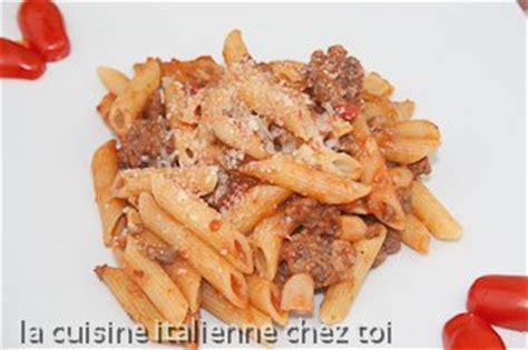penne alla buttera recette de cuisine italienne