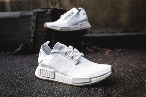Adidas Nmd R1 Gum Pack White Original Sneakers adidas originals nmd r1 pk gum pack packer shoes