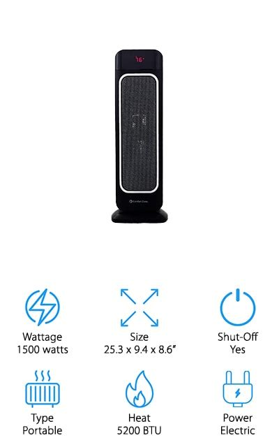 space heaters  large rooms  buying guide