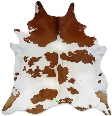 White Cow Hides Brown And White Cowhide Rug On Sale