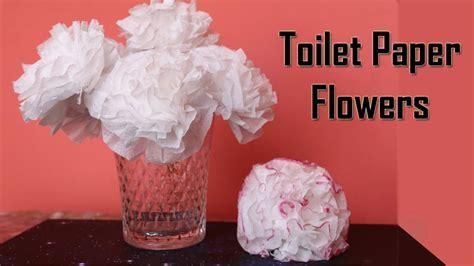 DIY Toilet Paper Flower   Centerpiece Ideas   Wedding