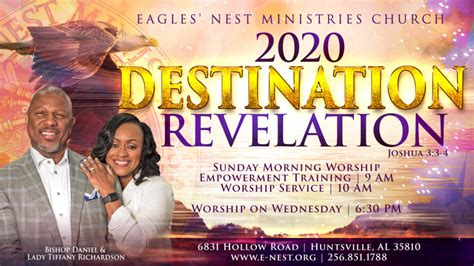 announcements eagles nest ministries church