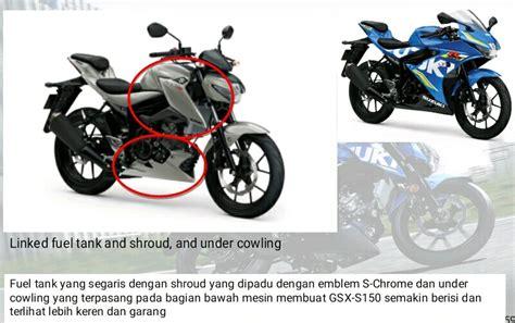 Cover Tangki Gsx R150 spesifikasi mesin suzuki gsx r150 dan gsx s150 sama beda