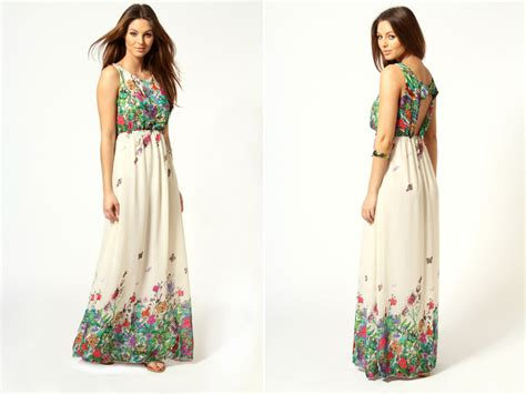 Flowery Dress Maxi flower power 10 floral dresses for your