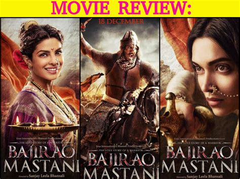 biography of film bajirao mastani bajirao mastani movie review ranveer singh deepika
