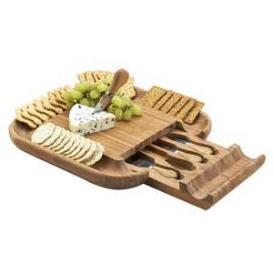 Laguiole Kitchen Knives new cracker cheese board set bamboo kitchen picnic cutting