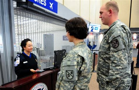 Transportation Security Officer by New Eases Airport Screening For Troops Families