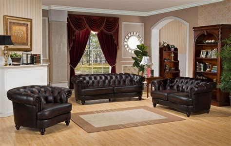brown leather living room set mario brown leather living room set from amax leather