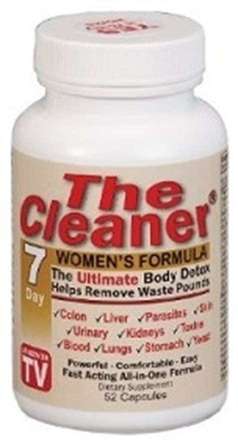The Cleaner 7 Day Detox For Mens by Buy The Cleaner 7 Day Womens Detox Formula Arnold