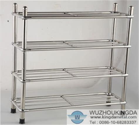 Shoe Rack Stainless Steel by Stainless Shoe Rack Stainless Shoe Rack Supplier Wuzhou