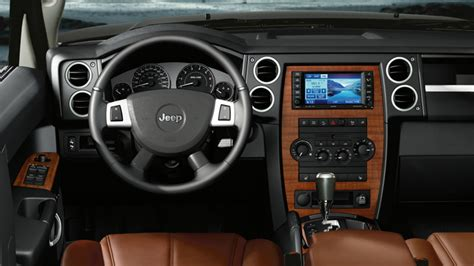jeep commander 2013 interior jeep commander review and photos
