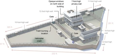 Compound Floor Plans how osama bin laden was located and killed interactive