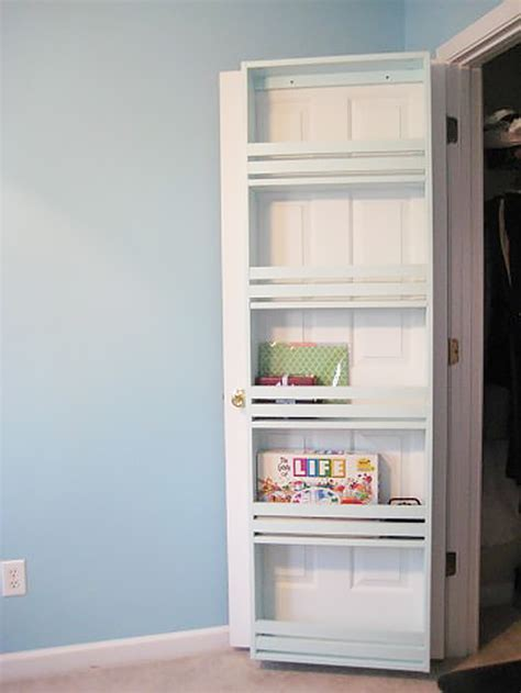 closet door shelf 31 closet organizing hacks and organization ideas page 2