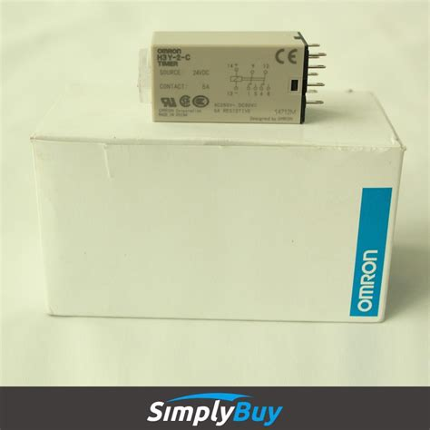 Timer Relay Omron H3y 2 By Wobble original omron time delay relay omron h3ba timer buy
