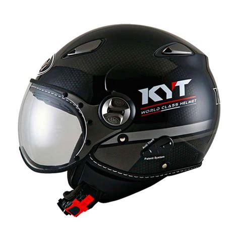 Helm Elsico Kyt jual kyt elsico 3 helm half black doff gun metal harga kualitas terjamin