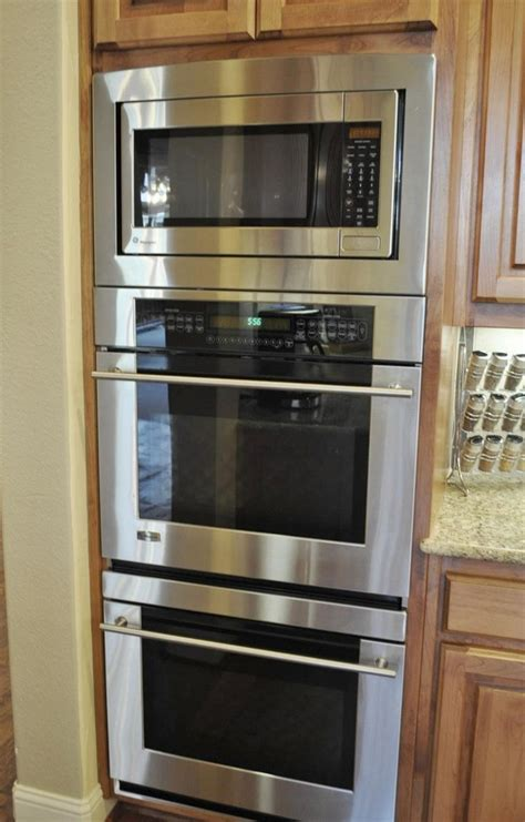 double oven kitchen design double oven with microwave google search kitchens