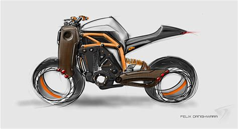 illustrator tutorial motorcycle ktm concept motorcycle on the wacom gallery