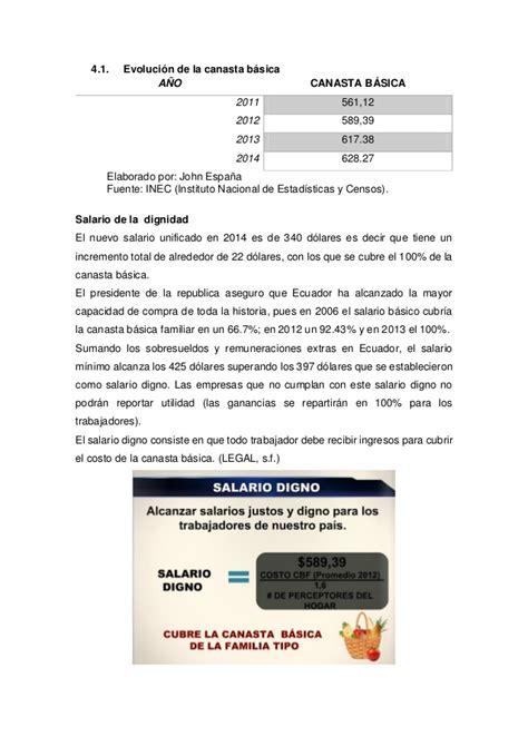 salario basico unificado ecuador newhairstylesformen2014com evoluci 243 n del salario b 225 sico unificado relaci 243 n de la