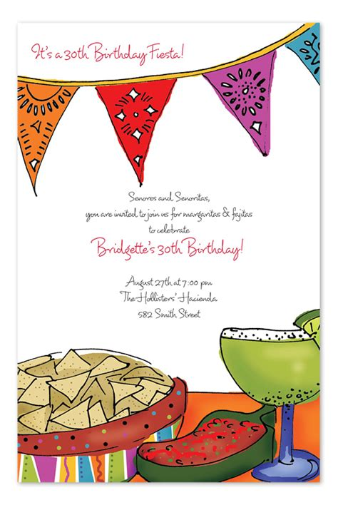 Fiesta Invitations Template Best Template Collection Mexican Invitation Template