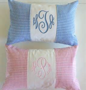 baby pillow baby boy pillow embroidered by