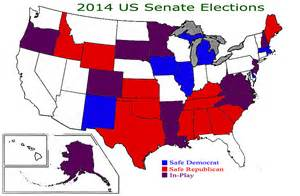 us senate election map 2014 a touch of optimism senate elections in 2014 updated