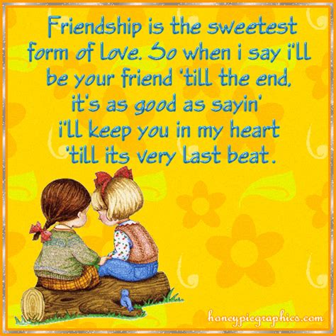 quot sweetest day postcard quot friendship is the sweetest form of pictures