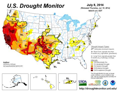 map of us drought states 20 signs the epic drought in the western united states is