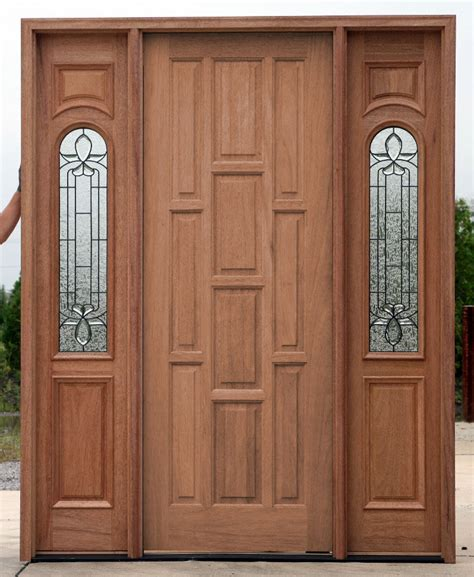 Exterior Doors Clearance Clearance Doors With 2 Sidelights At Discount Prices