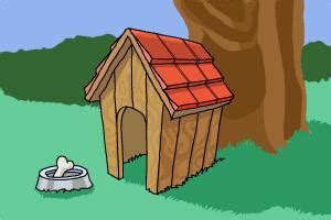 dog house sketch how to draw a dog house drawingnow