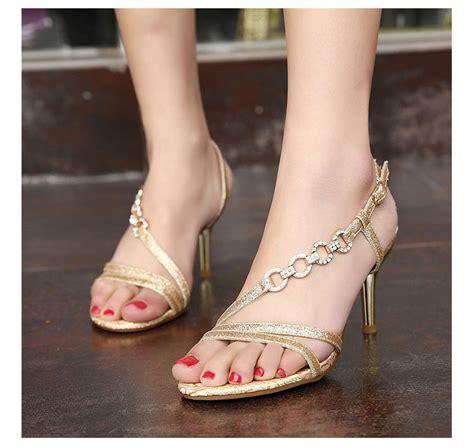 Sandal High Heels Wanita Sandal Formal Sandal Pesta Raindoz Rbu 6315 buy grosir bling bling sepatu from china bling
