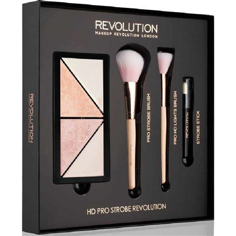 high quality beautiful new design wallet gift set makeup revolution hd pro strobe revolution gift set limited edition