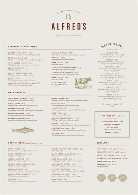 menu design proposal restaurant menu design from a coordinated branding pitch