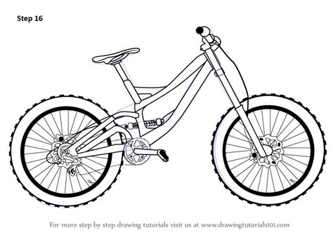 construct 2 bike tutorial learn how to draw a bicycle two wheelers step by step