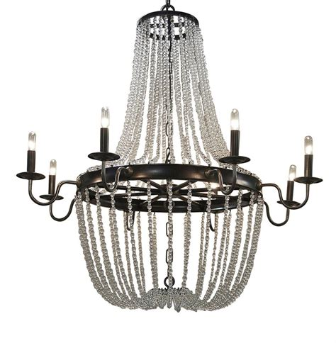 esteban global bazaar metal glass bead chandelier kathy