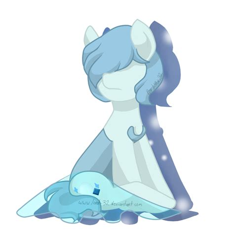pearl pony blue pearl mlp by lord 32 on deviantart