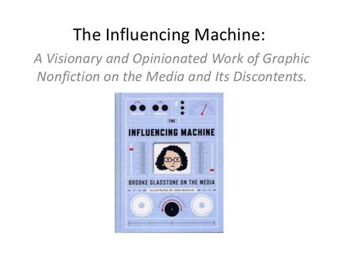 the influencing machine gladstone on the media the influencing machine by gladstone
