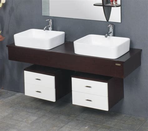 dual theme modern bathroom cabinets of wood gharexpert