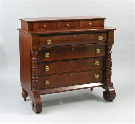 American Empire Furniture by An American Empire Style Dresser 19th Century 05 18 07 Sold 431 25