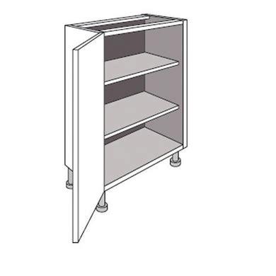 profondeur meuble de cuisine meuble de cuisine bas faible profondeur 1 porte twist