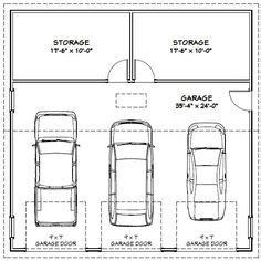 average 3 car garage size 3 car garage dimensions building codes and guides